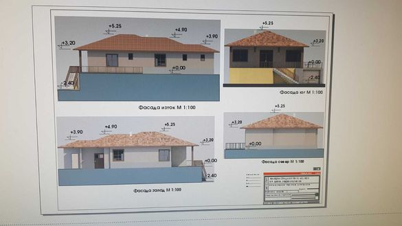 Продава дворно място с проект за еднофамилна къща в гр. Шипка