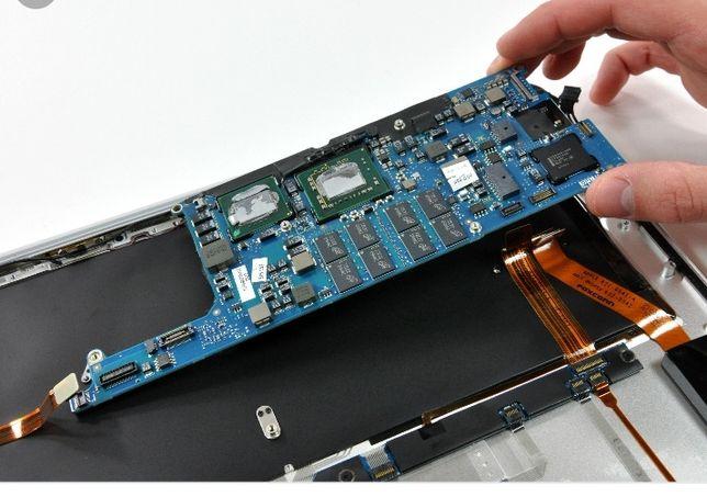 Reparatii service Laptop MacBook iMac Apple, placa de baza etc