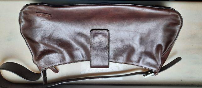 Poseta piele Louvier Paris originală stare excelenta