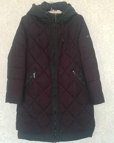 Пальто зимнее стеганное