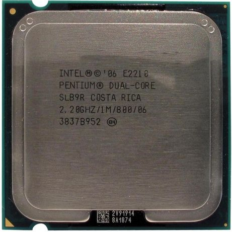 Intel Dual Core E2210, 2.20GHz ядер: 2, LGA775, oem, б/у.