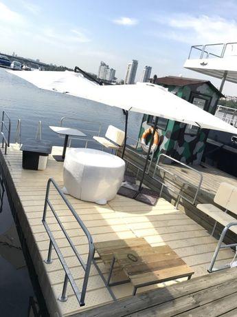 Ponton plutitor agrement terasa plaja