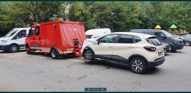 Tractari Auto NON STOP Dube XXL asistență rutieră 24/24 platformă