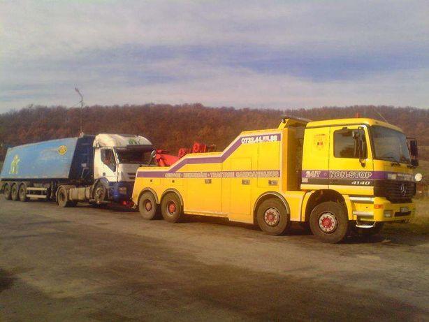 Tractare camioane Pitesti Valcea , tractari tiruri , tractari autocare