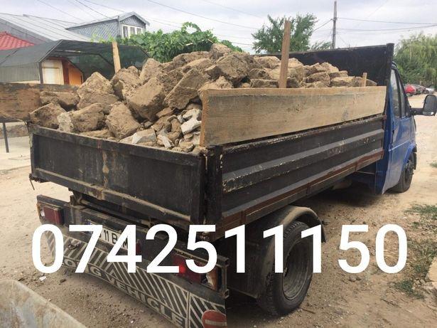 Transport moloz din debarasari/ demolari 50 de lei