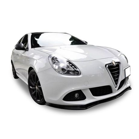 Alfa Romeo Guiletta Lip Spoiler / Алфа Ромео Лип Спойлер