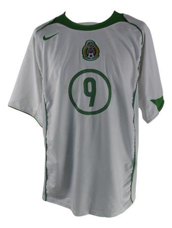 Tricou Fotbal Barbati Nike Mexic Jared Borgetti marimea L Alb C18