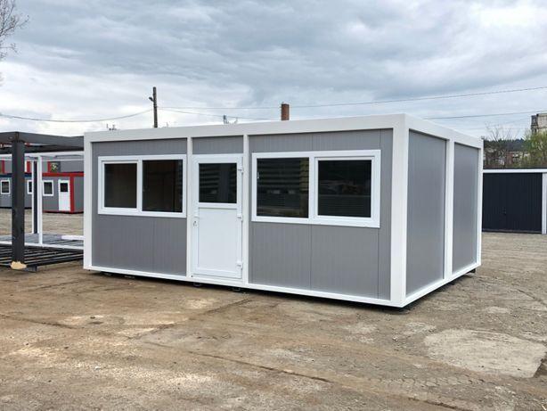 container birou magazin izolat ieftin folosit organizare santier