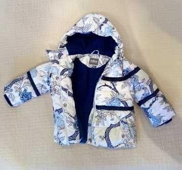 Зимняя детская куртка в хорошем состоянии