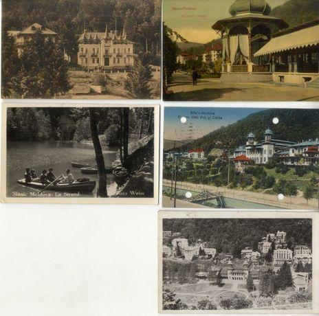 Carti Postale vechi/ Vederi cu localitatea Slanic Moldova interbelice