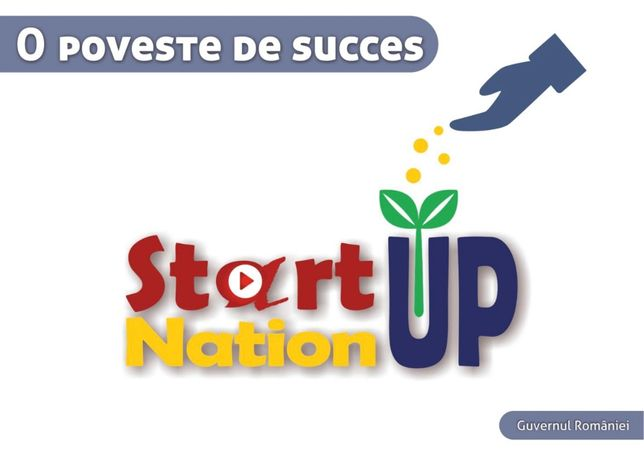 Placute Start Up Nation- Set 2 bucati- 80 lei