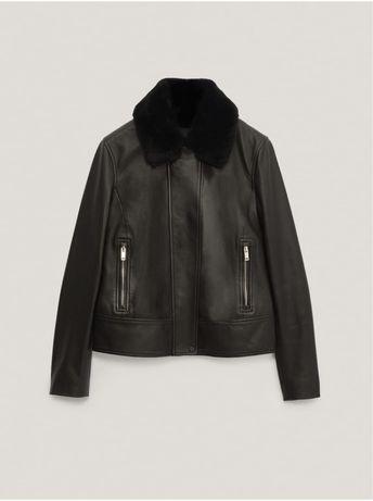 Куртка из натуральной кожи Massimo Dutti