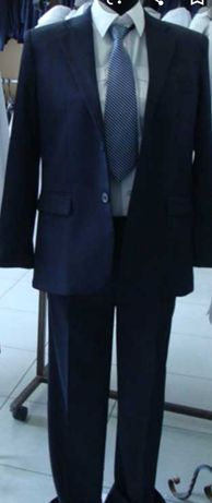 Школьная форма пиджак брюки Angelcher рубашка 50/52р