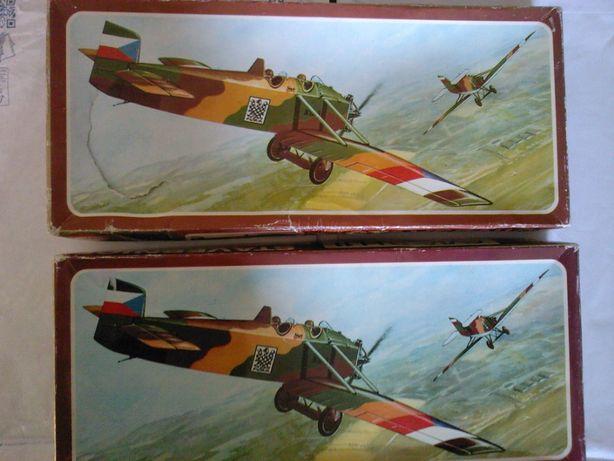Machete vintage avioane montaj: AVIA B.H.11, AVRO 504 K, scara 1/50
