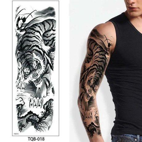 Татуировки ръкав временни водоустойчиви