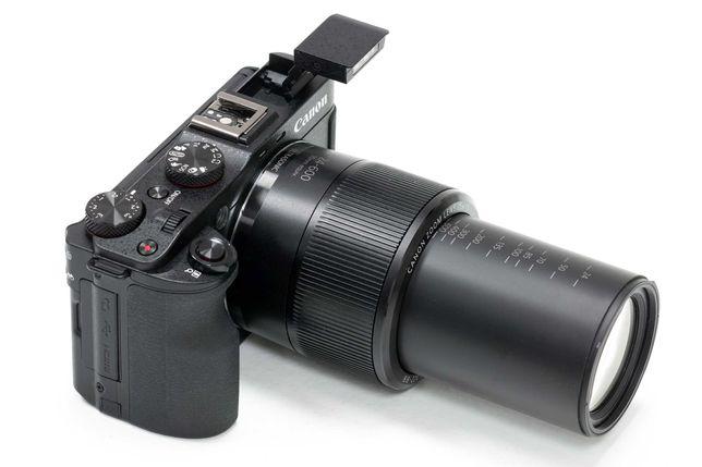 Camera foto Canon G3X + Rode Videomicro