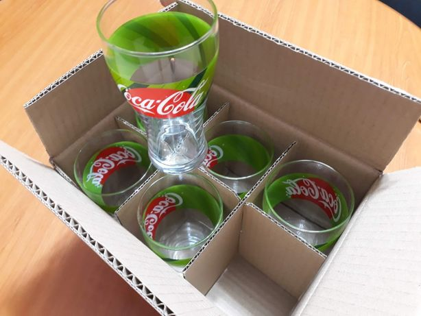 Set pahare Verde Coca Cola Noi