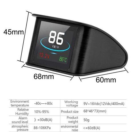 Calculator auto cu mufa OBD2 Afiseaza: consum, viteza,temperatura apa