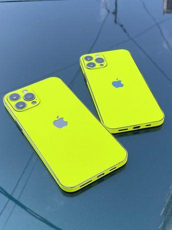 Skin Neon iPhone 12 pro