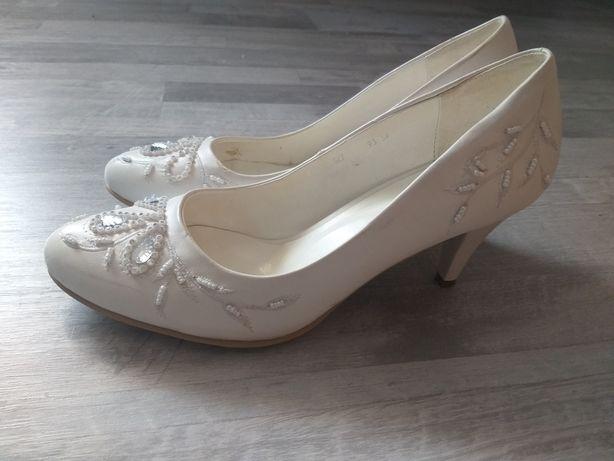 Свадебные туфли б/у