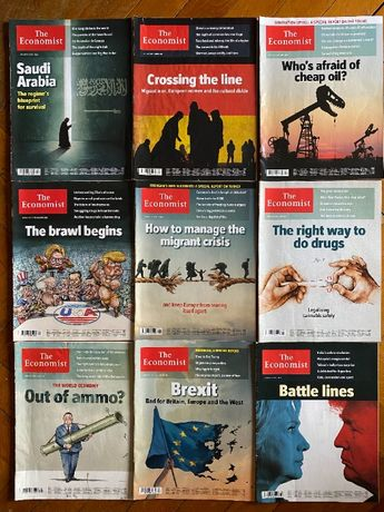 Сп. Economist - 9 броя