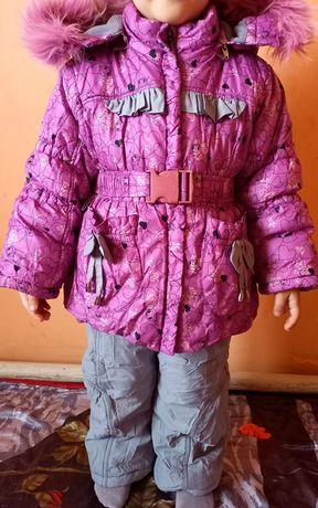 Зимний комбинезон для девочек