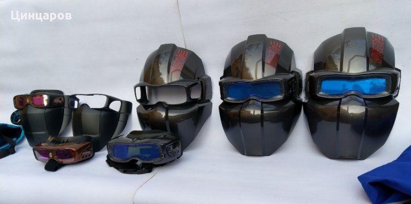 Маски и очила соларни заваръчни,комбинирани.Произведено в Корея гр. Пазарджик - image 1