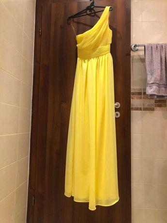 Дълги рокли, жълта и зелена, размер М