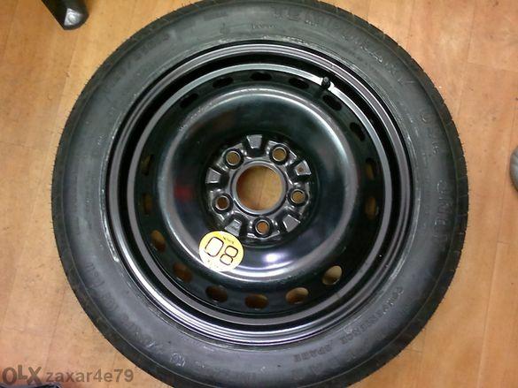 резервна гума патерица 15 и 16цола 5х114.3 за хонда, мазда, нисан