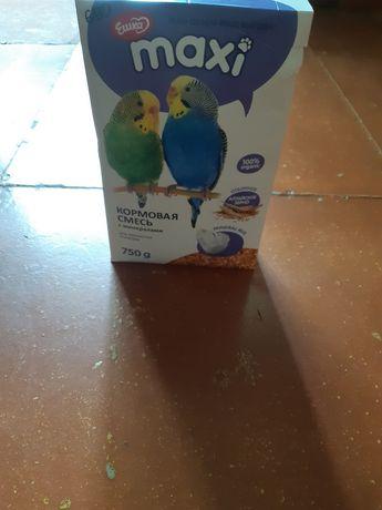 Кормовые смеси для попугаев