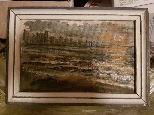 "Картина масло-""море"" Атанаска Узунова"