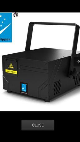 Închiriere lasere 2 bucăți de mare putere 2w (rgb)+ masina fum