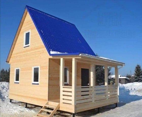 Vând casă din de locuit din lemn