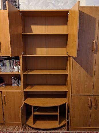 Книжный/медиа шкаф