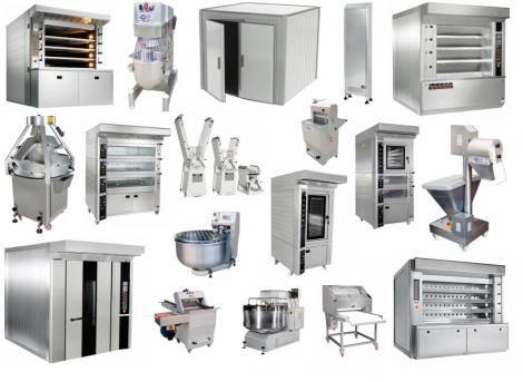 Хлебопекарное оборудование, ротационные печи, миксеры  и.т.д.