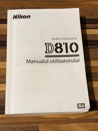 Vand Manual Nikon D810