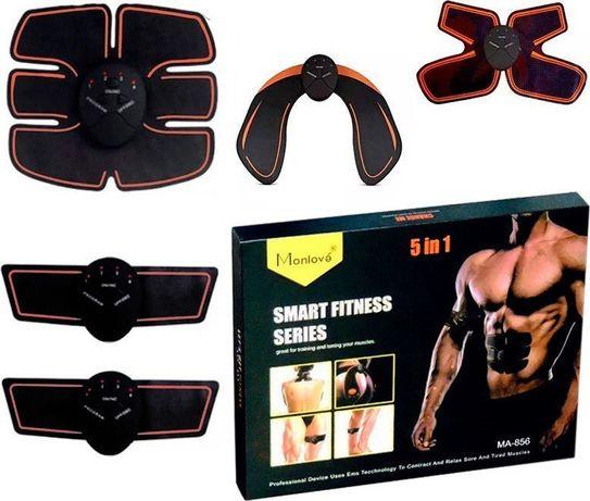 Set 5 aparate electrostimulare musculara EMS Smart Fitness 5in1