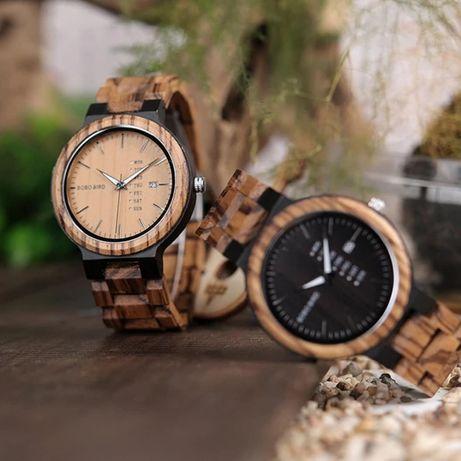 Продам новые деревянные мужские часы.