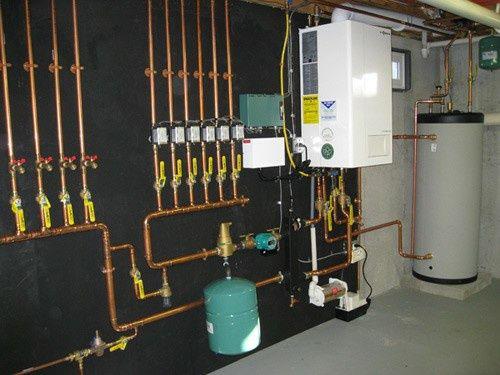 Отопительный установки кател тёплый пол канализация
