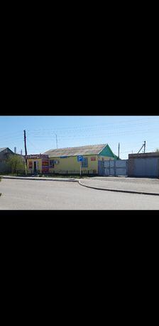 Продам дом и действующий магазин