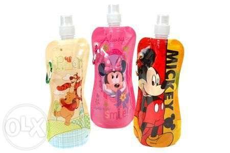 Сгъваема детска бутилка за вода