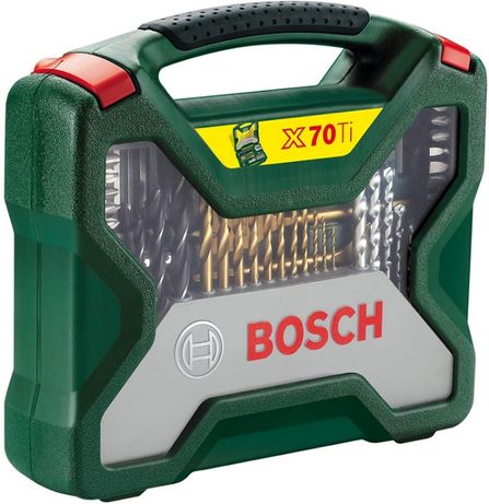 Bosch Бош Комплект Титаниеви Свредла Битове Камъни Домашен Майстор