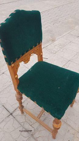 6 scaune sculptate reconditionate