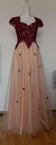 Rochie de seara din dantela (noua)