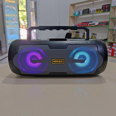 ‼️ Bluetooth колонка Kimiso KM-S6 ‼️Беспроводная акустика с Подсветкой