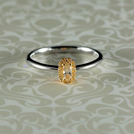 Inel din aur alb 18k, 2,42 grame (cod 8253)