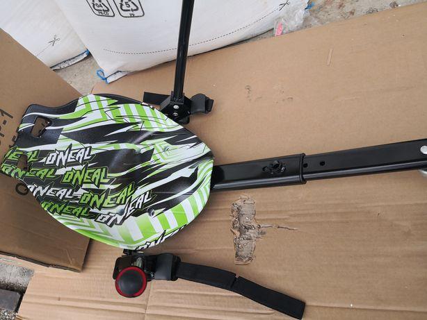 Hoverkart pentru hoverboard cu scaun verde