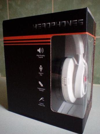 Casti audio bluetooth model CHBT-612 culoare alb (noi-cutie)