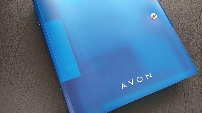 Agenda cu calculator solar Avon cu doua creioane si punga cadou