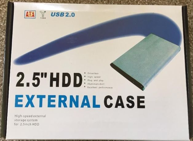 "RACK/CARCASA pentru HDD HARD 2.5"" de LAPTOP interfata SATA"